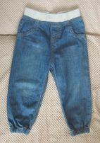 Spodnie dżinsowe rozmiar 92 NOWE