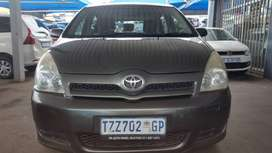 2006 Toyota Verso 1.6 Engine Capacity with Manuel Transmission