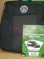 Авточехлы на Volkswagen Caddy (budget)