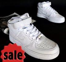 Акция!!Кроссовки Nike Air Force ! Найк Аир Форс черные , белые