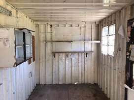 Container portable office / storage