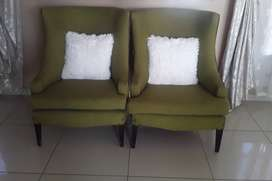 Rochester wingback chairs