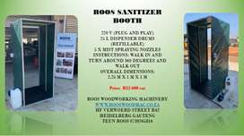 Roos Sanitizer Booth