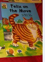 книга детская на английском языке FELIX on the move Maeve Friel Фрел