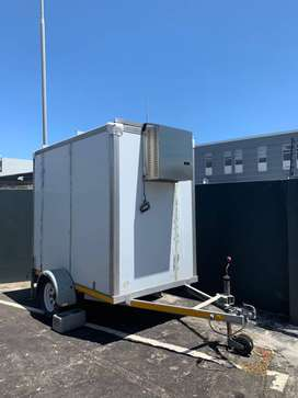 Second Hand Food Trailer and Refrigeration Unit
