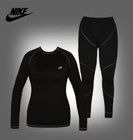Термобелье женское NIKE Pro Core FITTED LONG SLEEVE SHIRT active повсе