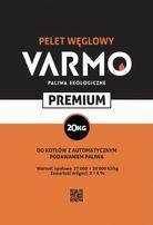 Ekogroszek Pelet węglowy Varmo 27-30 MJ/kg Zawsze Suchy!