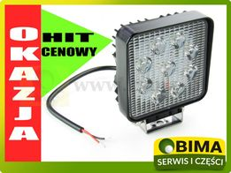 Lampa halogen roboczy 9 LED 27W 12V super cena
