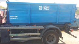 wywóz gruzu i śmieci Warszawa kontenery kp-7 dowóz piasku