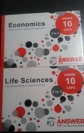 GRADE 9 AND GRADE 10 TEXTBOOKS FOR SALE!!
