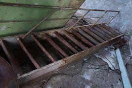Трап корабельный, лестница стальная.