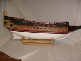 Kadłub Sovereign of the seas żąglowiec okręt Deagostini model