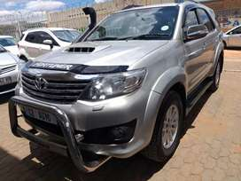 2013 Toyota Fortuner 3.0 D-4D 4x4 Manual