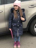 Продам зимнее пальто на девочку 6-7 лет