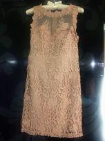 Платье Forever 21 женское брендовое нарядное вечернее летнее ажурное