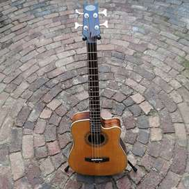 SALE or TRADE: Stagg Electric Acoustic Bass Guitar
