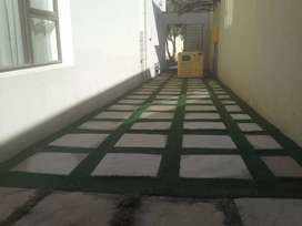 Artificial grass ,and paving installations