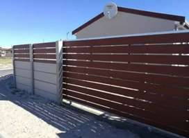 NUTEC CLADDED GALVANIZED GATES AND FENCING