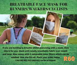 Exercise masks