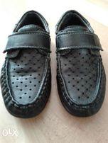 Кожаные туфли (мокасины) для мальчика 29р.