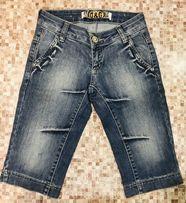 Обтягивающие шорты до колен Dolce&Gabana