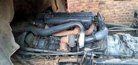 366T inter cooler mercedes benz