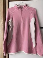 Bluza polarowa sportowa pudrowa polar polarek cienka ciepła różowa