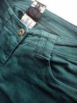 Джинсы темно-зеленого цвета