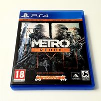 Gra Metro Redux + Metro Last Light 2gry PS4 PL po polsku Playstation 4