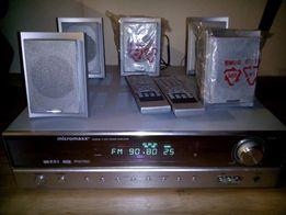 5Sprzedam 5.1CH Power Amplifier Micromaxx z RDS , pilot, 5 głośniko