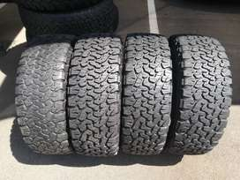 265 65 R17 BF Goodrich All Terrain Tyres