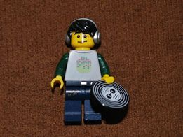 "Лего минифигурка ""Ди-джей""."