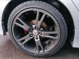 18 inch rims with good tyres