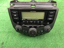 Honda Accord VII Diesel 02-08 Oryginalne Radio 6CD Wersja Europejska