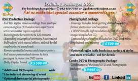 Wedding Photographic Packages