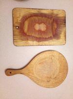 Доска кухонная раделочная (деревянная)