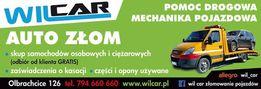Złomowanie pojazdów-skup samochodów WILCAR