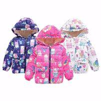 Продается куртка на девочку осенняя размеры от 1 до 6 лет