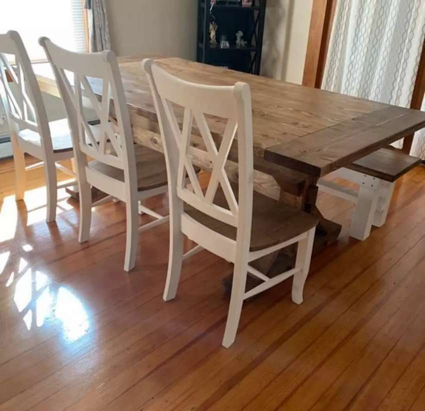 Local family dinning table set 0