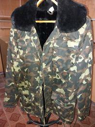 Продам мужскую зимнюю камуфляжную куртку