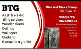 Tiling Ceilings and gamazine paintings
