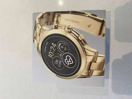 Michael Kors Runway Ladies Smartwatch (Rose Gold) In Perfect Condition