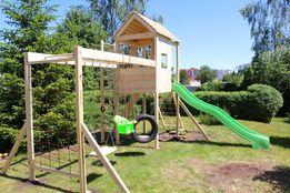 Горка, игровой комплекс, детские качели, домик, песочница