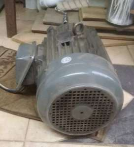 3 phase Induction motor 7.5kw and Industrial double Air blower