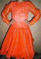 Бейсик. Яркое, красивое рейтинговое платье для бальных танцев