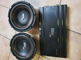 Starsound 10inch subs and amp