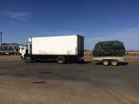 truck hire and Removals