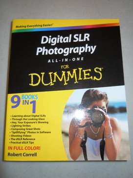 Digital Slr Photography Book =AND= ADOBE PHOTOSHOP CS5 TRAINING DVDS
