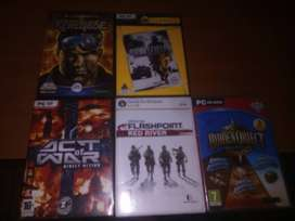 PC GAMS FOR SALE