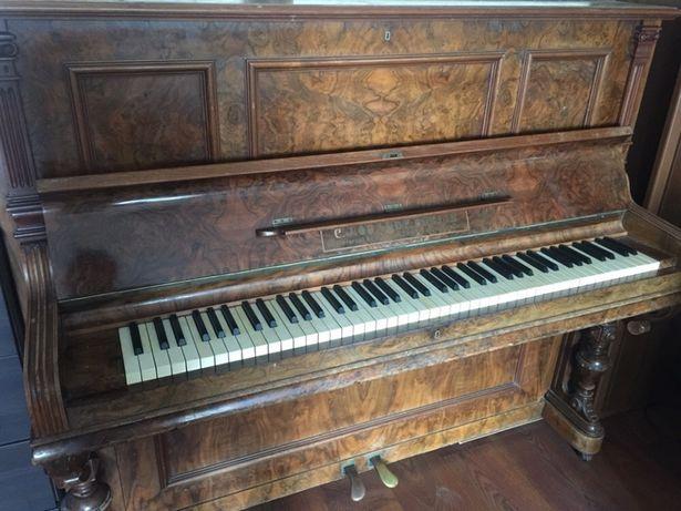 Антикварное немецкое пианино / фортепьяно